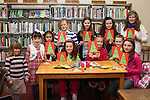 Christmas Workshop in The Library...(Photo credit should read Jenny Matthews www.newsfile.ie)....This Picture has been sent you under the conditions enclosed by:.Newsfile Ltd..The Studio,.Millmount Abbey,.Drogheda,.Co Meath..Ireland..Tel: +353(0)41-9871240.Fax: +353(0)41-9871260.GSM: +353(0)86-2500958.email: pictures@newsfile.ie.www.newsfile.ie.