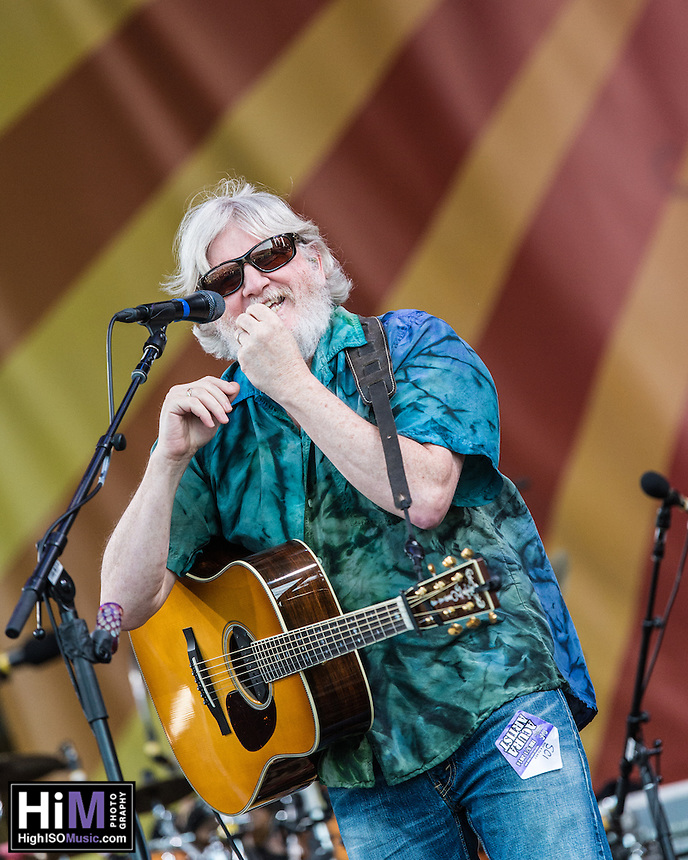 The String Cheese Incident perform at the 2014 Jazz and Heritage Festival in New Orleans, LA.