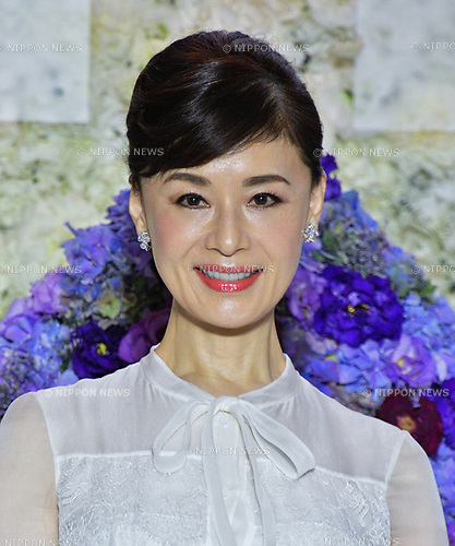 "Japanese actress Mao Daichi attends the ""Florale by Triumph Lingerie Collection"" launch event at the Aoyama Geihinkan in Tokyo, Japan on September 27, 2018."
