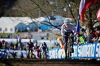 Ben Sumner (GBR)<br /> <br /> Men U23 race<br /> <br /> 2015 UCI World Championships Cyclocross <br /> Tabor, Czech Republic