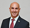 Ameer Benno, Republican candidate for U.S. Congress New York 4th District, poses for a portrait at Nassau County GOP headquarters in Westbury on Friday, June 1, 2018. -- slVOTE --
