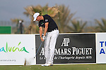 Maarten Lafeber (NED) tees off on the par3  9th hole during Day 2 Friday of the Open de Andalucia de Golf at Parador Golf Club Malaga 25th March 2011. (Photo Eoin Clarke/Golffile 2011)