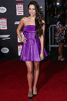 HOLLYWOOD, LOS ANGELES, CA, USA - NOVEMBER 04: Genesis Rodriguez arrives at the Los Angeles Premiere Of Disney's 'Big Hero 6' held at the El Capitan Theatre on November 4, 2014 in Hollywood, Los Angeles, California, United States. (Photo by Xavier Collin/Celebrity Monitor)