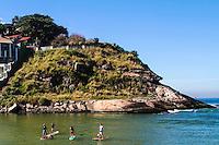 RIO DE JANEIRO; RJ; 13 DE JULHO DE 2013 - CLIMATEMPO RIO DE JANEIRO - Sábado de sol e céu claro na Barra da Tijuca, zona oeste da cidade do Rio de Janeiro  FOTO: NÉSTOR J. BEREMBLUM - BRAZIL PHOTO PRESS.