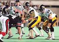 Mike Kerrigan Hamilton Tiger Cats 1990: Photo: Scott Grant