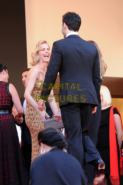Eva Herzigova at the Opening Movie &acute;Les Fantomes d Ismael`  screening during The 70th Annual Cannes Film Festival on May 17, 2017 in Cannes, France.<br /> CAP/LAF<br /> &copy;Lafitte/Capital Pictures