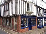 A51P67 The Shrine Shop Little Walsingham Norfolk England