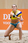 05.01.2019, Den Haag, Sportcampus Zuiderpark<br />Beachvolleyball, FIVB World Tour, 2019 DELA Beach Open<br /><br />Annahme Kim Behrens (#1 GER)<br /><br />  Foto © nordphoto / Kurth