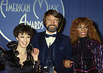Sheena Easton, Glen Campbell and Donna Summer during 9th American Music Awards on January 30, 1982 at Shrine Auditorium in Los Angeles, California.