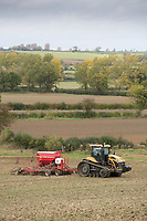 Drilling Winter Wheat <br /> Picture Tim Scrivener 07850 303986<br /> &hellip;.covering agriculture in the UK&hellip;.