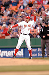13 May 2005: Nick Johnson, first baseman for the Washington Nationals, on the field against the Chicago Cubs, as the visiting Cubs defeated the Nationals 6-3 to take the first game of the 3-game series at RFK Stadium in Washington, DC.  Mandatory Photo Credit: Ed Wolfstein