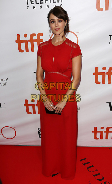 Heather Lind attends the 2015 Toronto International Film Festival 'Demolition' premiere and opening night gala at Roy Thomson Hall on September 10, 2015 in Toronto, Canada.<br /> CAP/NW<br /> &copy;Nick Watts/Capital Pictures