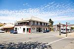The historic town of San Juan Bautista, California