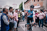 Ben Hermans (BEL/Israel Cycling Academy) rolling out of the finish zone<br /> <br /> stage 13 Ferrara - Nervesa della Battaglia (180km)<br /> 101th Giro d'Italia 2018
