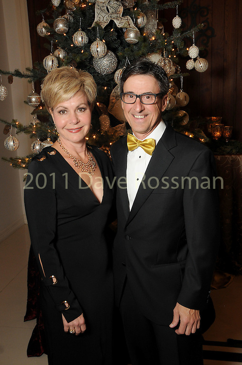 Melanie and Steve Skrivanos at the 27th annual Trees of Hope Holiday Gala at The Citadel on Kirby Friday Oct. 04,2016.(Dave Rossman photo)