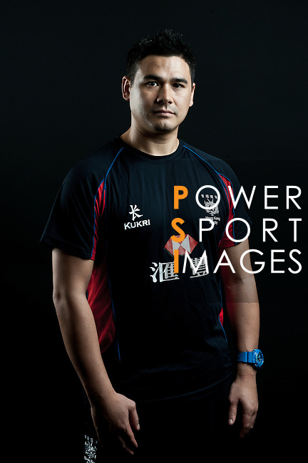 Kane Jury poses during the Hong Kong 7's Squads Portraits on 5 March 2012 at the King's Park Sport Ground in Hong Kong. Photo by Andy Jones / The Power of Sport Images for HKRFU