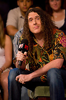 Toronto (ON) CANADA, July 4, 2007-<br /> <br />  infamous Canadian Weird Al Yankovik stops to discuss his latest projects<br /> <br /> <br /> photo by Cody Bokshowan - Images Distribution
