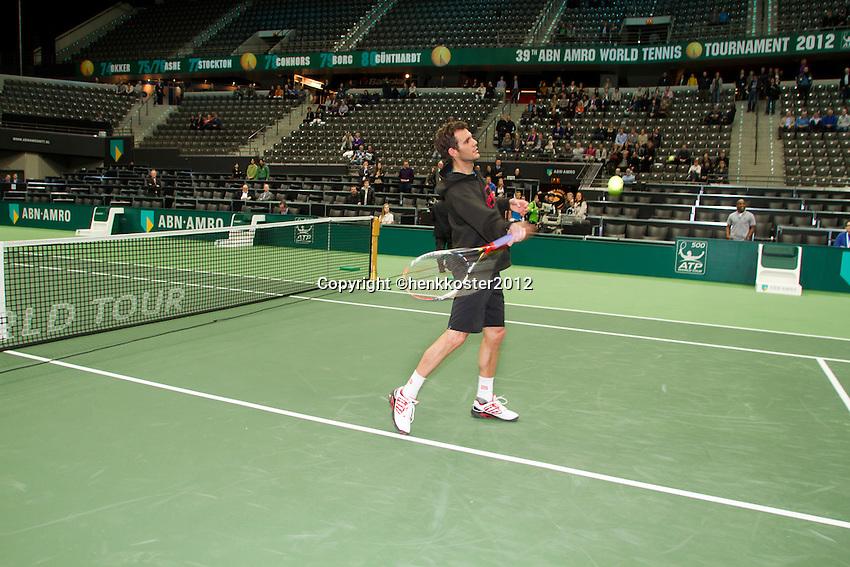 13-02-12, Netherlands,Tennis, Rotterdam, ABNAMRO WTT, Gassquet