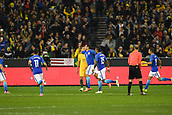 June 13th 2017, Melbourne Cricket Ground, Melbourne, Australia; International Football Friendly; Brazil versus Australia; Diego Andrade of Brazil celebrates after scoring his goal after 11 seconds in the first minute