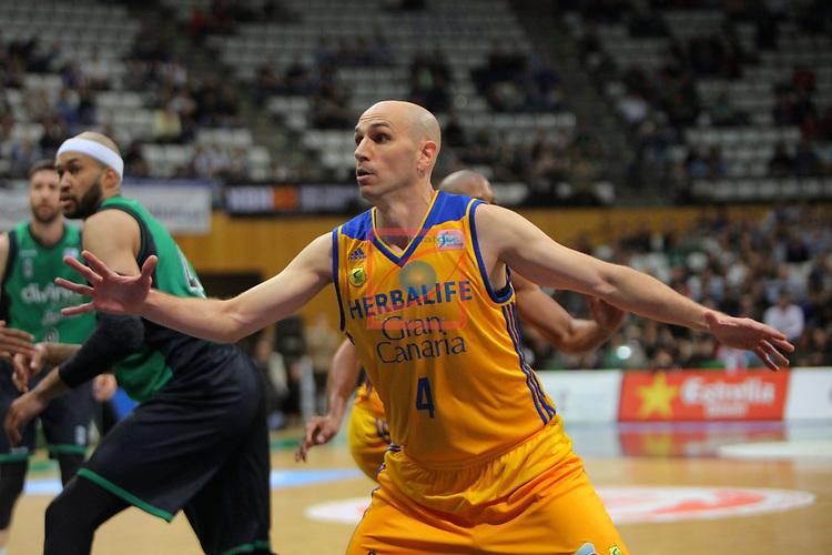 League ACB-ENDESA 2016/2017. Game: 28.<br /> Divina Seguros Joventut vs Herbalife Gran Canaria: 86-72.<br /> Albert Oliver.