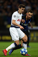 Harry Winks of Tottenham Hotspur during Tottenham Hotspur vs Inter Milan, UEFA Champions League Football at Wembley Stadium on 28th November 2018