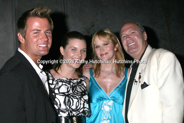 Heather Tom & Nicholle Tom with their close peronal friends attending the  Daytime for Planned Parenthood Event at a rooftop in Hollywood, CA.June 18, 2008.©2008 Kathy Hutchins / Hutchins Photo .