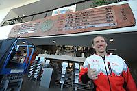 SPEED SKATING: SALT LAKE CITY: 22-11-2015, Utah Olympic Oval, ISU World Cup, Ted-Jan Bloemen (CAN), World Record 10.000m: 12.36,30, ©foto Martin de Jong