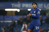 Chelsea's Reece James applauds the home fans at the final whistle during Chelsea vs Aston Villa, Premier League Football at Stamford Bridge on 4th December 2019
