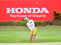 PATTAYA, THAILAND - FEBRUARY 22: So Yeon Ryu of South Korea pitching onto the 18th green during the second round of the Honda LPGA Thailand 2019 at Siam Country Club Pattaya (Old Course), Pattaya, Thailand on February 22, 2019.<br /> .<br /> .<br /> .<br /> (Photo by: Naratip Golf Srisupab/SEALs Sports Images)<br /> .<br /> Any image use must include a mandatory credit line adjacent to the content which should read: Naratip Golf Srisupab/SEALs Sports Images