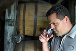 Harlen Wheatley is the master distiller for Buffalo Trace Distillery in Frankfort, Kentucky.