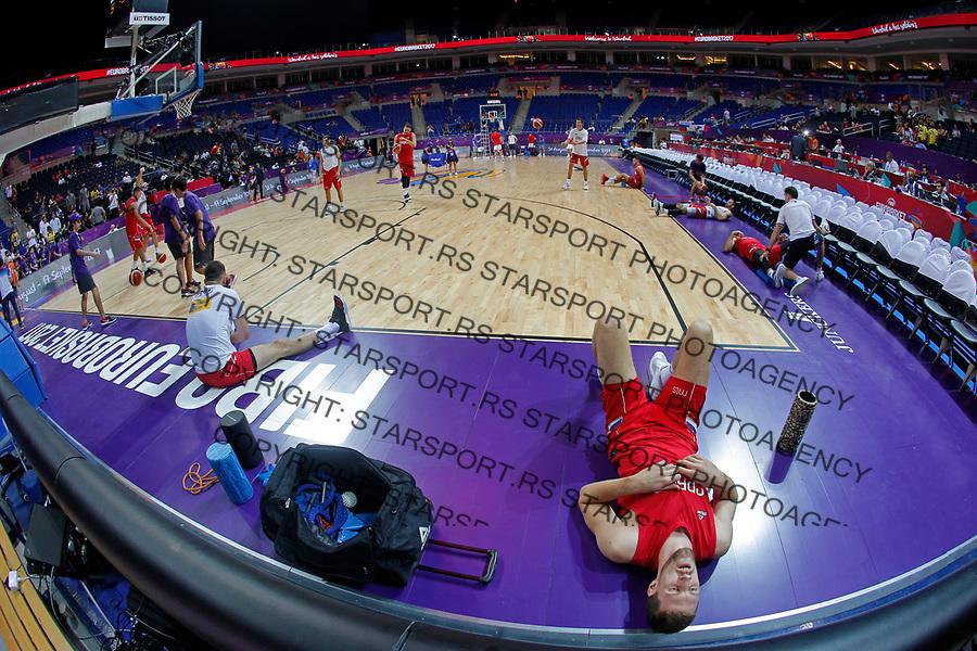 Ognjen Kuzmic European basketball championship, Evropsko prvenstvo u kosraci Eurobasket Rusija - Srbija, Russia - Serbia 02.9.2017. Istanbul, Turska, 2. Septembar 2017. (credit image & photo: Pedja Milosavljevic / STARSPORT)