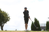 Niall McDermott (Co. Sligo) on the 14th tee during the Final round in the Connacht U16 Boys Open 2018 at the Gort Golf Club, Gort, Galway, Ireland on Wednesday 8th August 2018.<br /> Picture: Thos Caffrey / Golffile<br /> <br /> All photo usage must carry mandatory copyright credit (&copy; Golffile   Thos Caffrey)