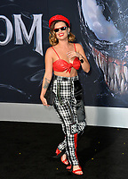 LOS ANGELES, CA. October 01, 2018: Chanel West Coast at the world premiere for &quot;Venom&quot; at the Regency Village Theatre.<br /> Picture: Paul Smith/Featureflash