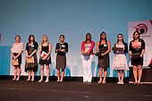 Junior Sportwoman of the Year finalists. Counties Manukau Sport 17th annual Sporting Excellence Awards held at the Telstra Clear Pacific Events Centre, Manukau City, on November 27th 2008.
