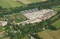 Gleisdreieck Asylanten Wohnungsbau  : EUROPA, DEUTSCHLAND, HAMBURG 2.09.2017: im Bau befindliches Wohngebiet Gleisdreieck Mittlerer Landweg
