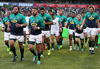 Frans Malherbe of South Africa and Willie le Roux of South Africa during the 2018 Castle Lager Incoming Series 2nd Test match between South Africa and England at the Toyota Stadium.Bloemfontein,South Africa. 16,06,2018 Photo by Steve Haag / stevehaagsports.com