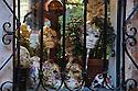 Window display of Venetian Masks in Venice, Italy
