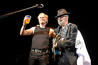 LONDON, ENGLAND - SEPTEMBER 8: Martin Chambers and Dave Stewart performing at Shepherd's Bush Empire on September 8, 2017 in London, England.<br /> CAP/MAR<br /> &copy;MAR/Capital Pictures