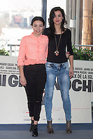 Marta Castellon (L) and Marta Guerra pose during `Mi gran noche´ film presentation in Madrid, Spain. February 20, 2015. (ALTERPHOTOS/Victor Blanco) /NORTEphoto.com