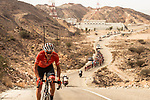 Danny Pate (USA) Rally Cycling from the breakaway group reeled in by the peleton during Stage 2 of the 2018 Tour of Oman running 167.5km from Sultan Qaboos University to Al Bustan. 14th February 2018.<br /> Picture: ASO/Muscat Municipality/Kare Dehlie Thorstad | Cyclefile<br /> <br /> <br /> All photos usage must carry mandatory copyright credit (&copy; Cyclefile | ASO/Muscat Municipality/Kare Dehlie Thorstad)
