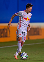 16th July 2020, Orlando, Florida, USA;  New York Red Bulls midfielder Marc Rzatkowski (90) passes the ball during the MLS Is Back Tournament between the Columbus Crew SC versus New York Red Bulls on July 16, 2020 at the ESPN Wide World of Sports, Orlando FL.