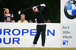David Horsey (ENG) tees off on the 6th tee during Day 3 of the BMW PGA Championship Championship at, Wentworth Club, Surrey, England, 28th May 2011. (Photo Eoin Clarke/Golffile 2011)