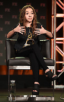 PASADENA, CA - FEBRUARY 4: (L-R) EP/Writer/Director/Cast Member Pamela Adlon and Cast Member Mikey Madison during the BETTER THINGS panel for the 2019 FX Networks Television Critics Association Winter Press Tour at The Langham Huntington Hotel on February 4, 2019 in Pasadena, California. (Photo by Frank Micelotta/FX/PictureGroup)