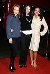 """HOLLYWOOD, CA. - December 03: Actresses Erin Cummings, Julia Voth and America Olivo arrive at the Los Angeles premiere of """"Nothing Like The Holidays"""" at Grauman's Chinese Theater on December 3, 2008 in Hollywood, California."""