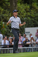 Justin Thomas (USA) prepares to toss his ball to his caddie on 16 during round 2 of the World Golf Championships, Mexico, Club De Golf Chapultepec, Mexico City, Mexico. 2/22/2019.<br /> Picture: Golffile | Ken Murray<br /> <br /> <br /> All photo usage must carry mandatory copyright credit (© Golffile | Ken Murray)