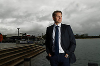Canning MP Andrew Hastie, Chair of the Parliamentry Joint Committee on Intelligence and Security, in Mandurah, W.A. 7 June, 2018.  photo by Trevor Collens.