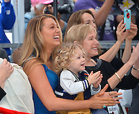 Actress Blake Lively &amp; daughter James Reynolds (2) &amp; Tammy Reynolds (Ryan's mother) at the Hollywood Walk of Fame Star Ceremony honoring actor Ryan Reynolds.<br /> Los Angeles, CA. <br /> December 15, 2016<br /> Picture: Paul Smith/Featureflash/SilverHub 0208 004 5359/ 07711 972644 Editors@silverhubmedia.com