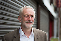 2016 05 04 Labour leader Jeremy Corbyn in Maesteg, south Wales, UK