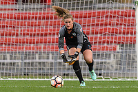 Bridgeview, IL - Sunday September 03, 2017: Alyssa Naeher during a regular season National Women's Soccer League (NWSL) match between the Chicago Red Stars and the North Carolina Courage at Toyota Park. The Red Stars won 2-1.