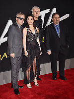 WESTWOOD, CA - FEBRUARY 05: (L-R) Cristoph Waltz, Rosa Salazar, James Cameron and Jon Landau attend the Premiere Of 20th Century Fox's 'Alita: Battle Angel' at Westwood Regency Theater on February 05, 2019 in Los Angeles, California.<br /> CAP/ROT/TM<br /> ©TM/ROT/Capital Pictures